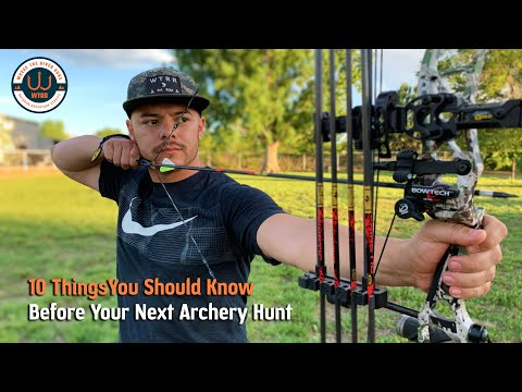 10 Tips For Beginning Bow Hunters