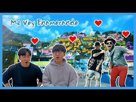 MV REACCION!  Chino & Nacho – Me Voy Enamorando ft. Farruko (Remix) (Reaccion del Coreano)
