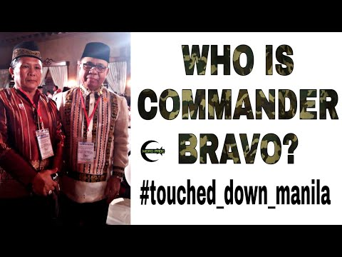 Who is Commander Bravo? #touched_down #manila