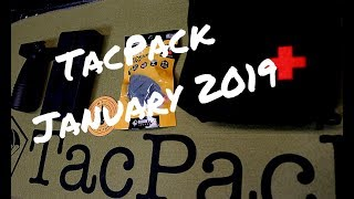 TACPACK Subscription Box Review - January 2019