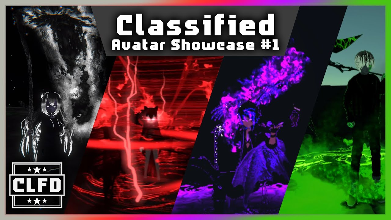 VRChat Classified Avatar Showcase #1 | Guests from around the world