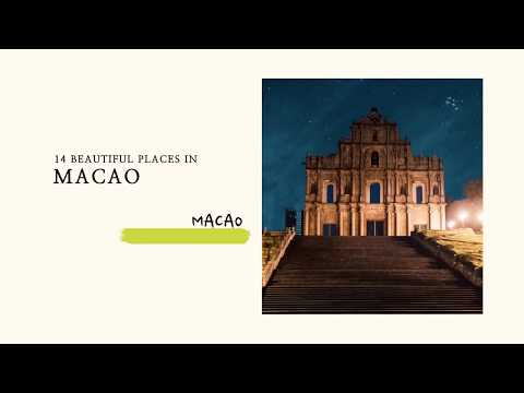 Macau Places to Visit Photo Book - A Beautiful Destination