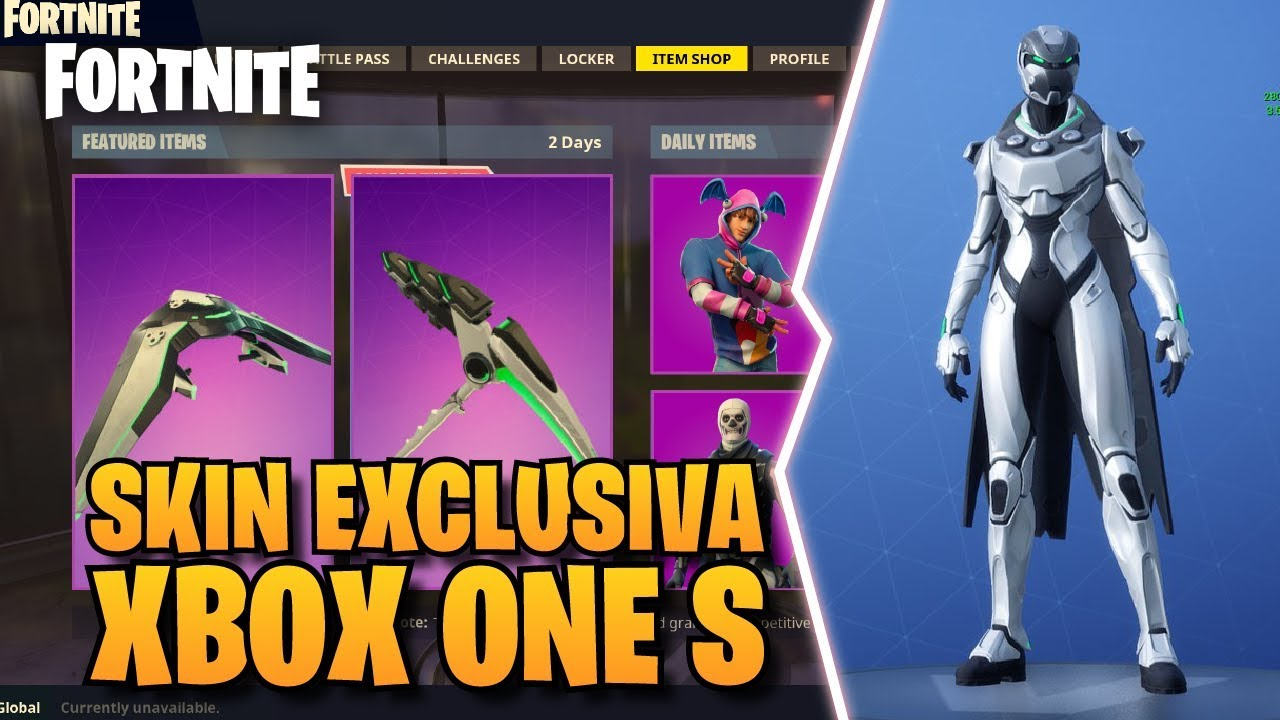 Showcase Skin Exclusiva Xbox One S Set De Eon Dentro Del