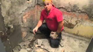 как наносить бетоноконтакт видео