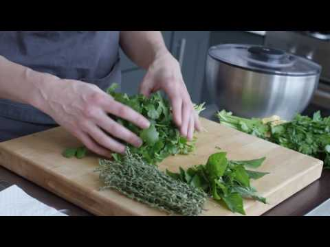 How To Store Herbs Such As Thyme Parsley Rosemary And Basil