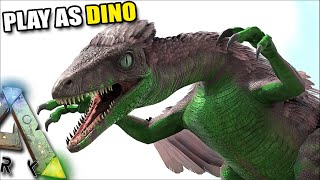 MAKING A TROODON PACK AND TROLLING PLAYERS | PLAY AS DINO | ARK SURVIVAL EVOLVED