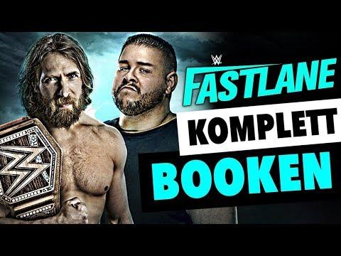 So würde ich WWE FASTLANE 2019 von vorne bis hinten booken