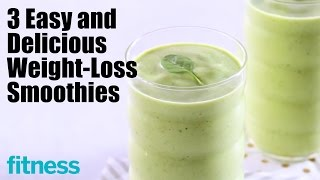 These three weight loss smoothies are guaranteed to fill you up and give your diet the nutrition (and flavor!) boost it needs. http://po.st/subscribetofitnes...