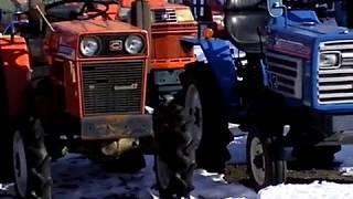 Sprzedaż używanych mini traktorków ciągników ogrodniczy. www.akant-ogrody.pl