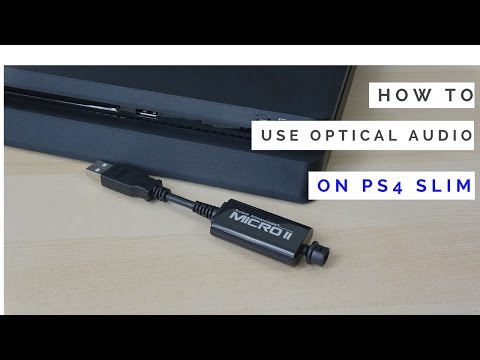 How To Use Astro & Turtle Beach Headset Optical Headset With PS4 Slim