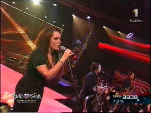 Eurosong 2010-  Alone- Strašne mi chýbaš