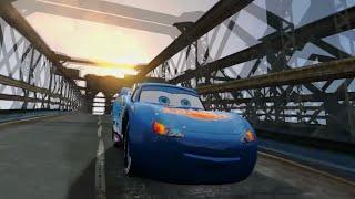 GTA IV Lightning McQueen Dinoco Crash Testing HD