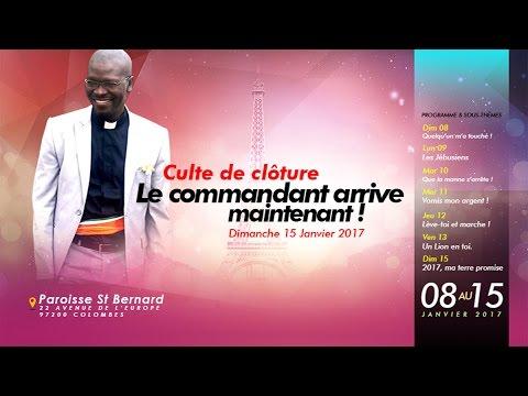 E.Classique Tv : Campagne à Paris Culte de clôture _ Le commandant arrive (extrait)