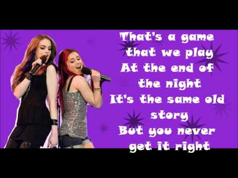 Give it Up Lyrics- Elizabeth Gillies & Ariana Grande (Victorious FULL HD)