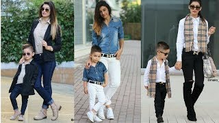 Gambar cover Mom & Son - matching fashion dresses// How to CO-Ordinate Mummy & Me Looks