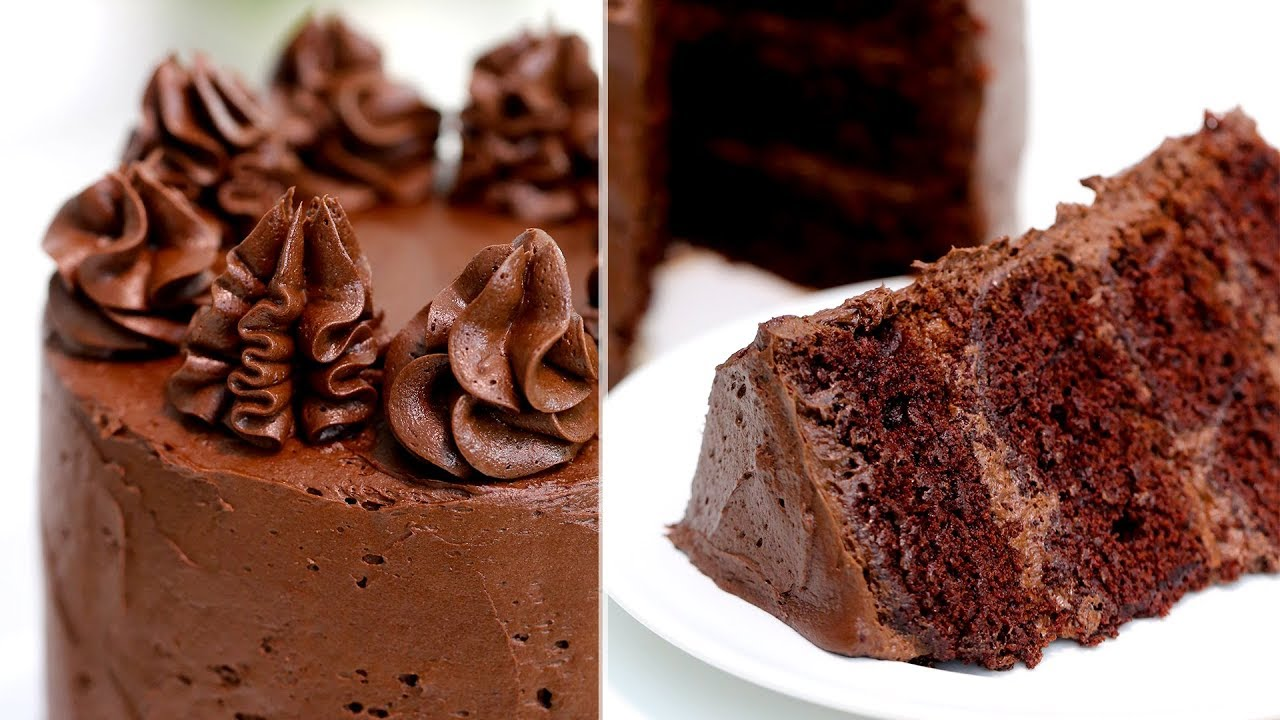 How To Make The Perfect Chocolate Cake Chocolate Cake Recipe