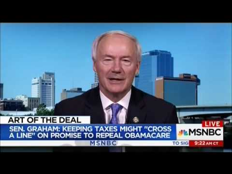 Gov. Asa Hutchinson appears on MSNBC with Peter Alexander