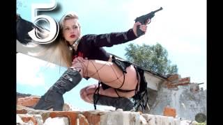 Фото девушек с оружием [full HD]