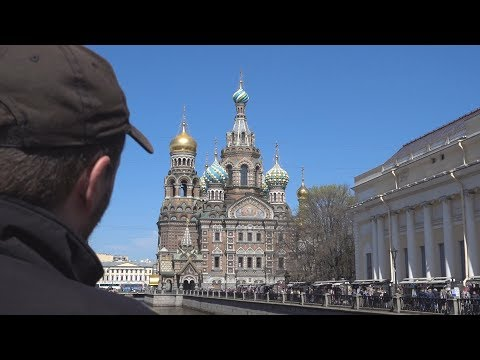 Saint Petersburg, Russia - Church of the Savior on Spilled Blood, Winter Palace and Palace Square