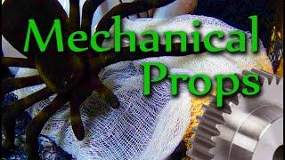 Mechanical Halloween Props & 3D Printer Fun