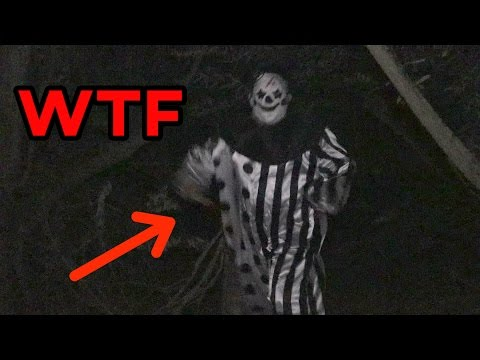Creepy CLOWN Sighting Caught On Camera! [SCARY CLOWN HUNTING SAN DIEGO]
