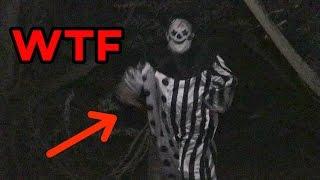 creepy clown sighting caught on camera scary clown hunting san diego