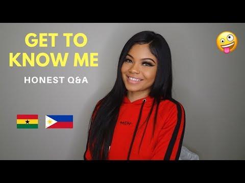 GET TO KNOW ME // HONEST Q&A - VIRGINITY, SOCIAL MEDIA, AM I SINGLE?