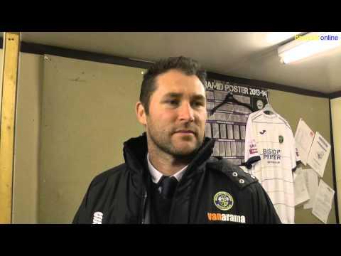 Havant & Waterlooville v Eastbourne. Goals & reaction. December 2014