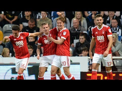 Highlights: Newcastle 2-3 Forest (23.08.17)