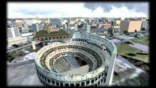 FSX Movie | Italy: From the Mountains to the Cities | HD720p
