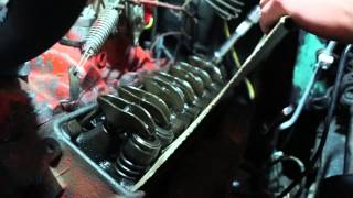 SBC Chevy valve adjust old school way