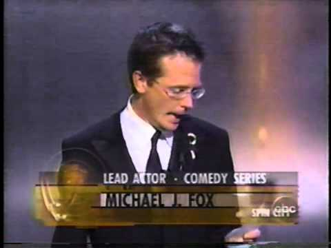 Michael J. Fox Wins 2000 Emmy Award For Lead Actor In A Comedy Series