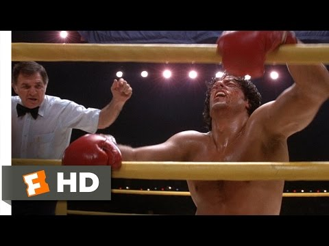 Rocky II (11/12) Movie CLIP - Heavyweight Champion Of The World (1979) HD