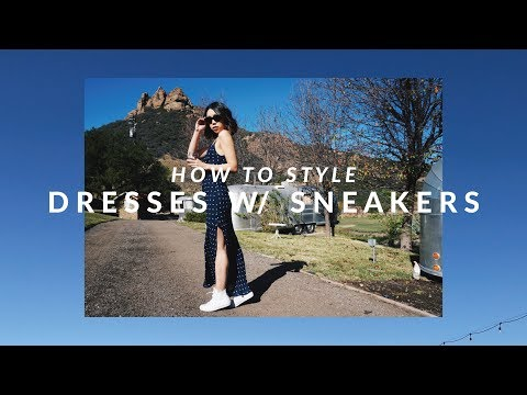 HOW TO STYLE | 5 Ways to Wear Dresses with Sneakers | JULIA SUH