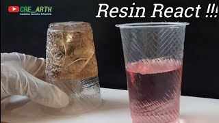 Resin Reaction !!! if you have a wrong measurement of catalyst ||| YOU MUST KNOW