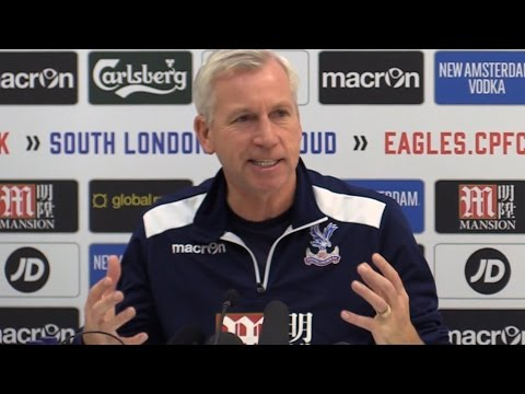 Alan Pardew Pre-Match Press Conference - Crystal Palace v Southampton