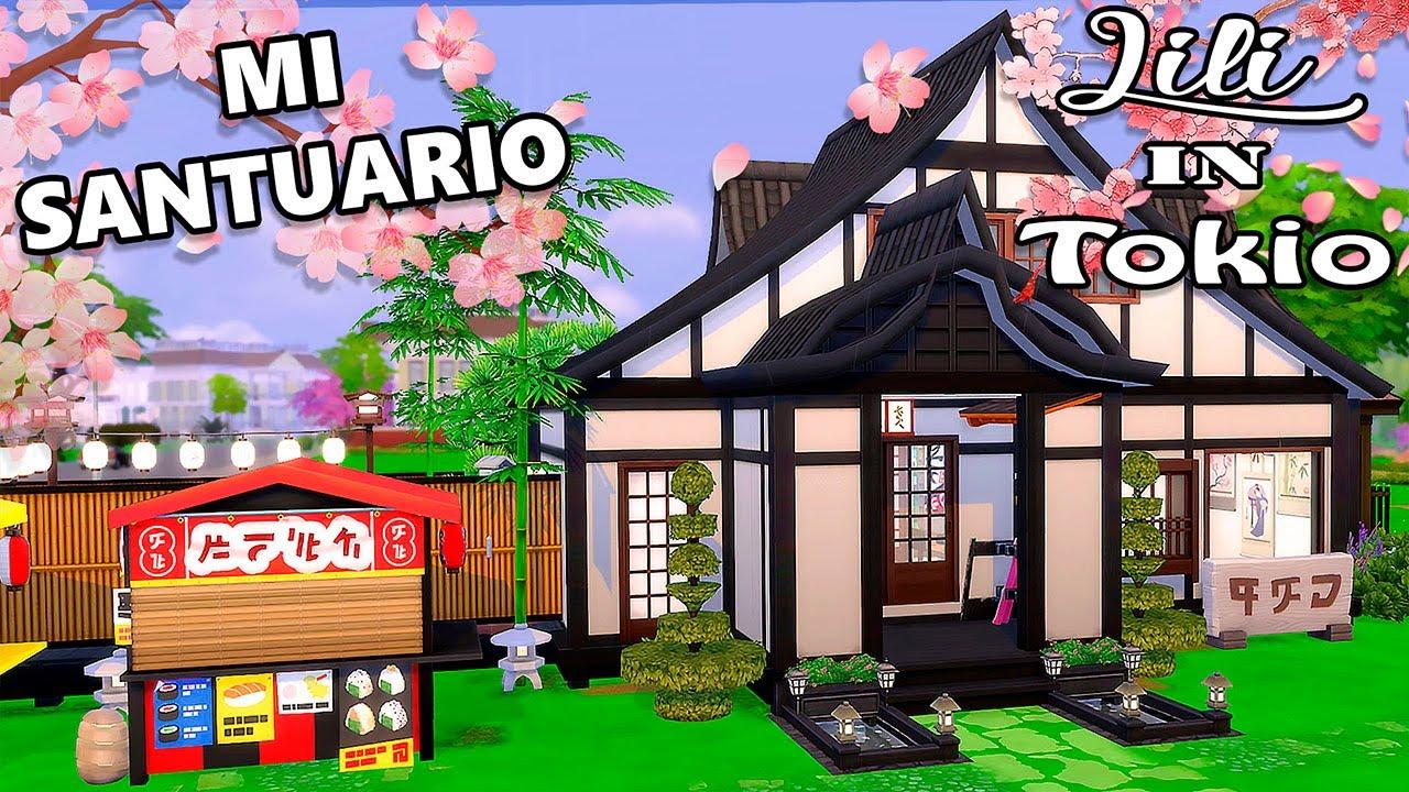 🌸 CREO MI PROPIO SANTUARIO JAPONÉS!! 🌸 Lili In Tokio ~ Los Sims 4