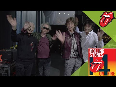 The Rolling Stones - 14 ON FIRE - Thank You!