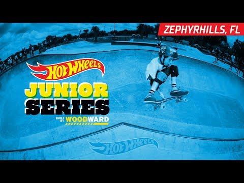 Zephyrhills FL Skate Highlights - Hot Wheels Junior Series