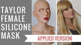 Taylor Silicone Mask - Applied Version - New by Crea Fx