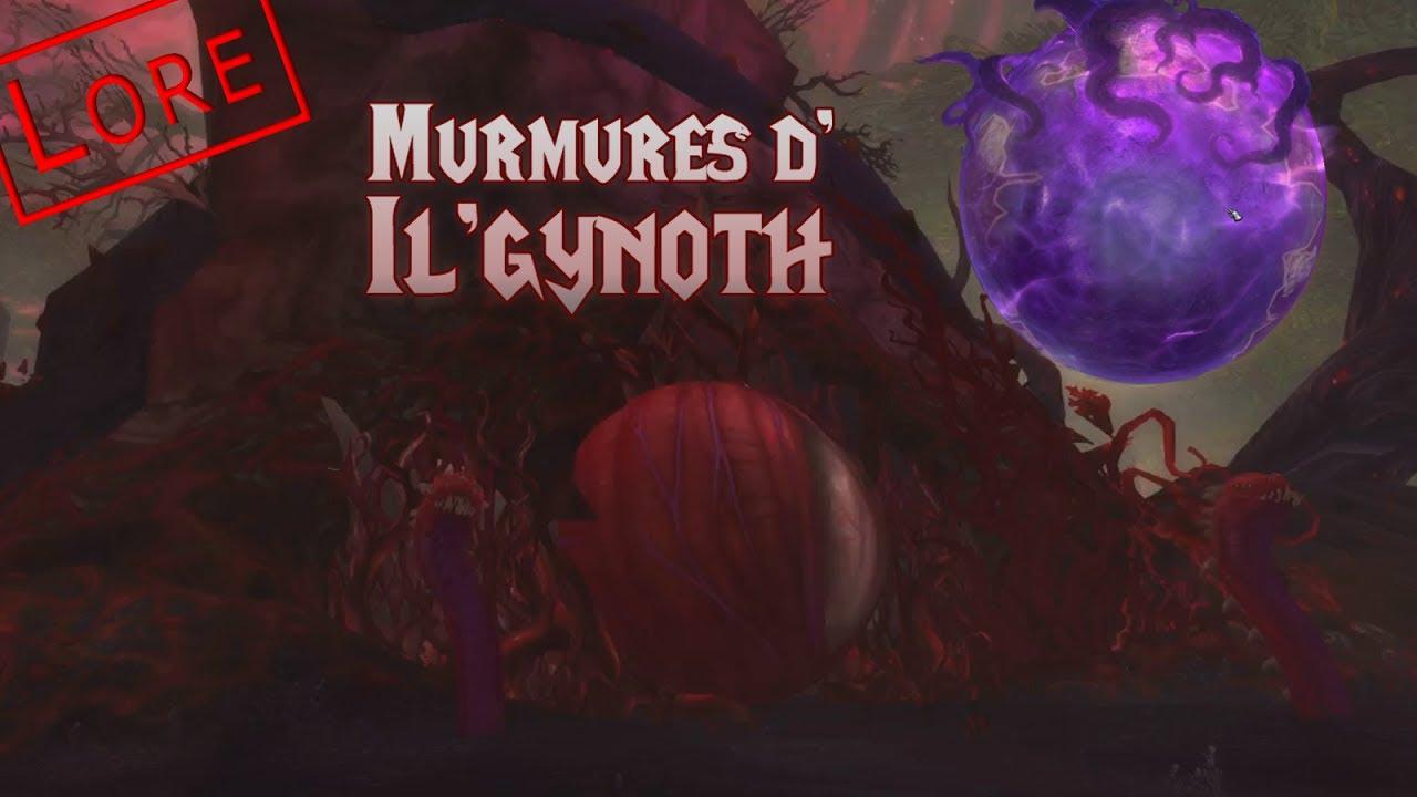 [Histoire Warcraft] Les murmures d'Il'gynoth (Légion)