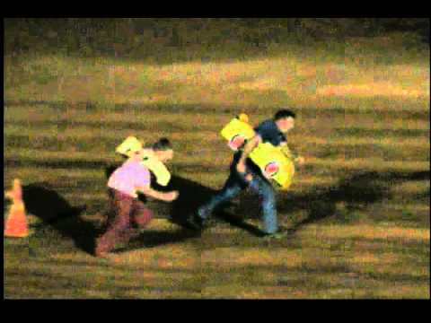 Track Owner Wayne Burns Crashes