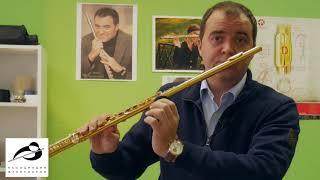 Ассоциация Флейтистов. Видео урок 1. Как правильно держать флейту.