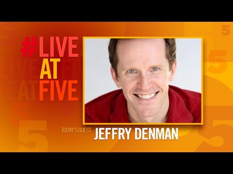 Broadway.com #LiveatFive with Jeffry Denman of CAGNEY