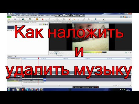 Программа для удаления музыки из видео