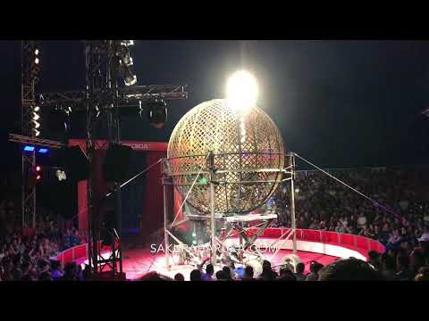 Great Moscow Circus Singapore 2018: Globe of Death | Sakuraharuka.com