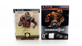 Madden 12 Hall Of Fame Edition Unboxing