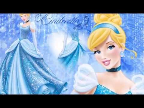 Рисунок №10. Принцессы Дисней. Золушка.