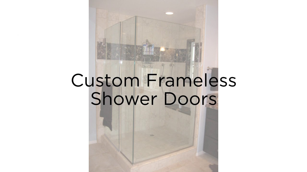 Frameless Shower Doors Los Angeles Action Glass Youtube