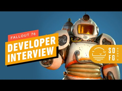 Fallout 76 Wastelanders - Gameplay Interview   Summer of Gaming